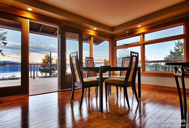 Saltspring Room with a View