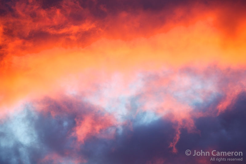Clouds from a Saltspring sunrise