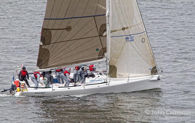 Mischief winning Round Saltspring 2011