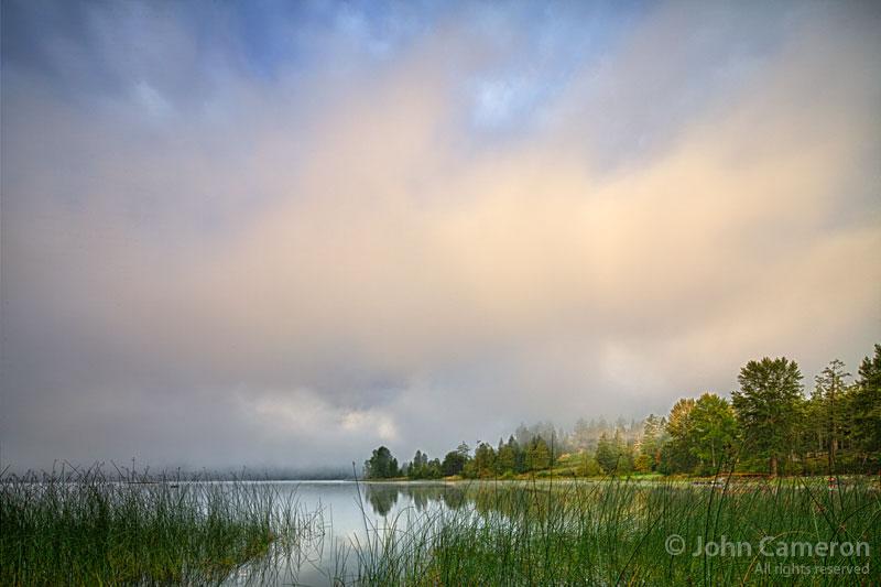 St. Mary Lake, Saltspring morning