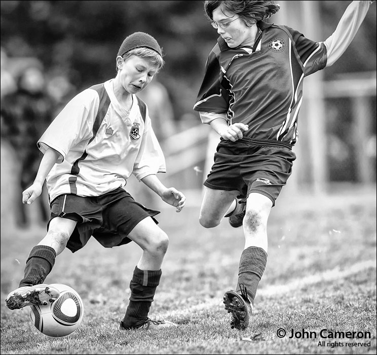 U13 Soccer on Salt Spring