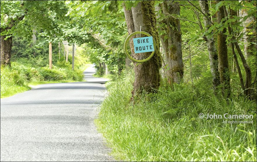 Vello Village Salt Spring Bike Route