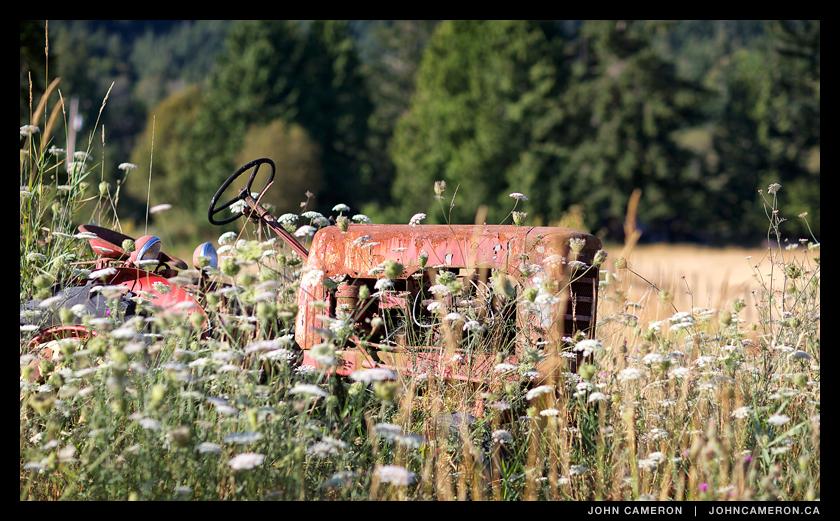 Farm Tractor Art