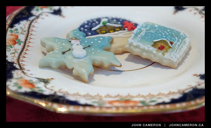 Hand Painted cookies from a viewer