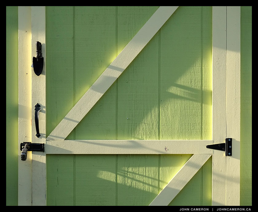 Green Door in Ganges