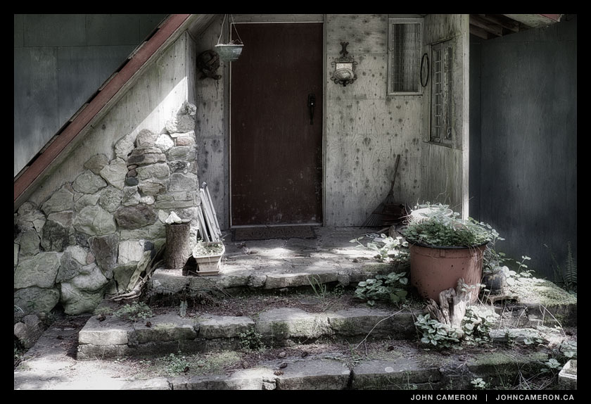 Abandoned Salt Spring Island Dwelling