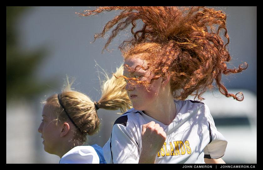 GISS Soccer Hair