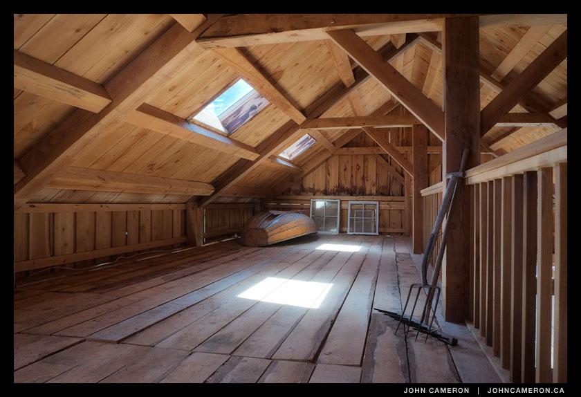 Loft in a Salt Spring Island Barn