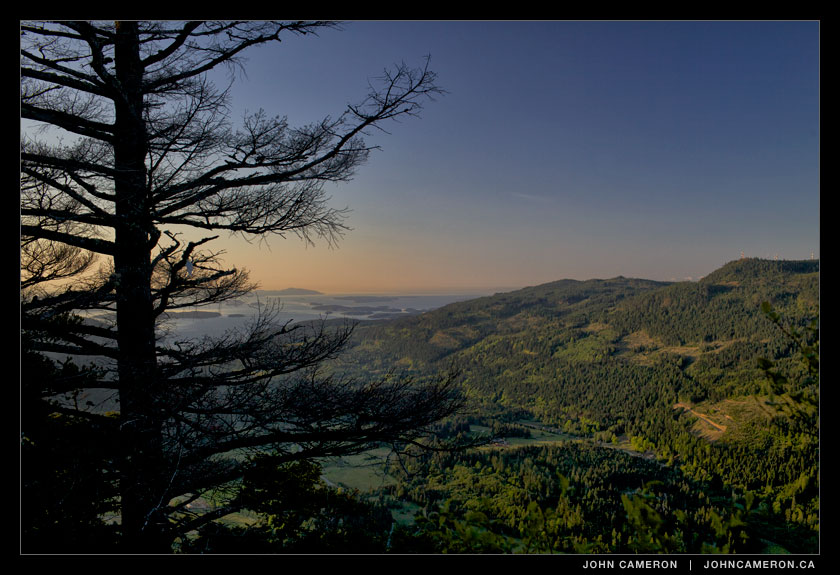 Pre-Dawn at Mount Maxwell, Salt Spring Island