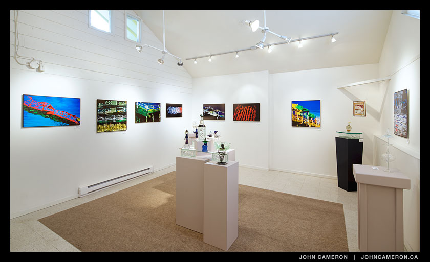 Reflections at the Salt Spring Gallery of Fine Art