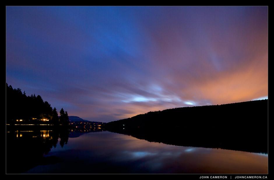 St. Mary Lake at Night
