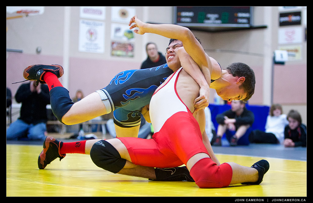 Vancouver Island Wrestling Championships at GISS