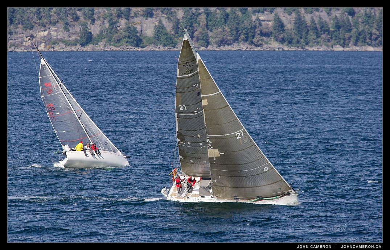Sailing round Salt Spring Island 2014