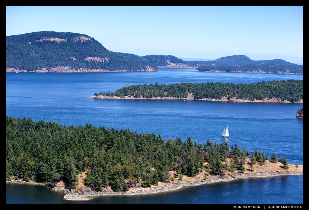 Another Tough Day in the Gulf Islands © johncameron.ca