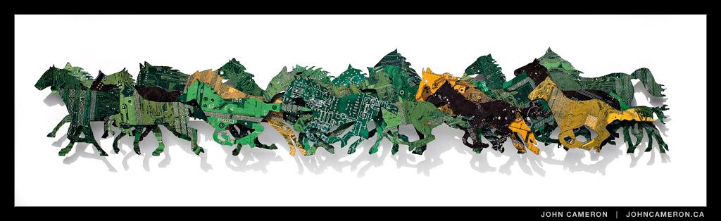 Circuit Board Horses, Peter McFarlane