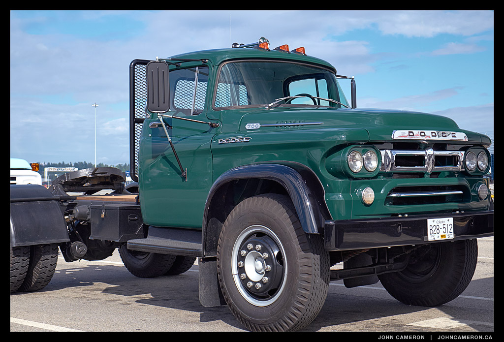Dodge 700 at Tsawwassen