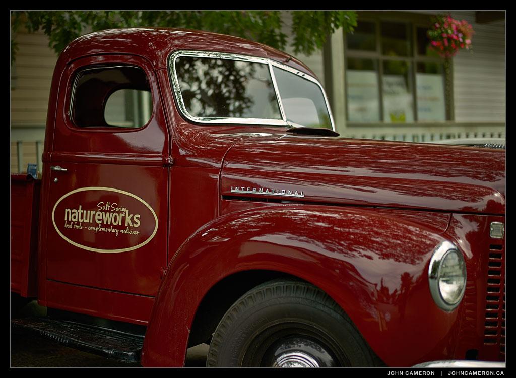Salt Spring Natureworks Truck