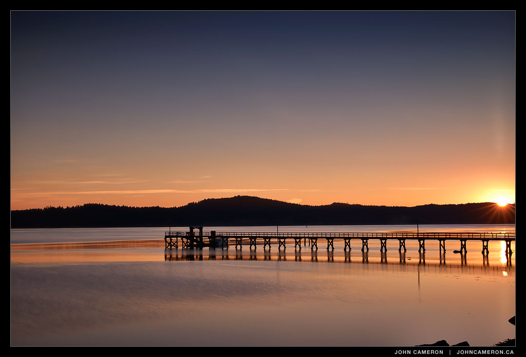 September Sunrise at Fernwood Pier