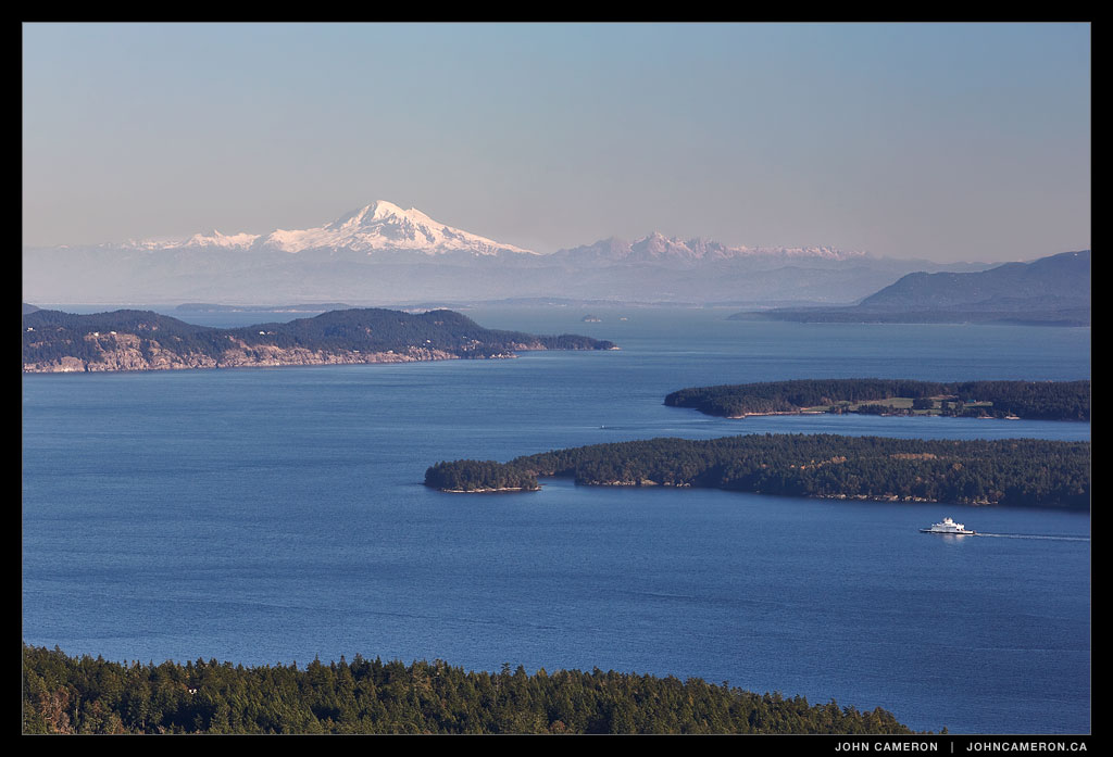 Salt Spring View from Mount Tuam