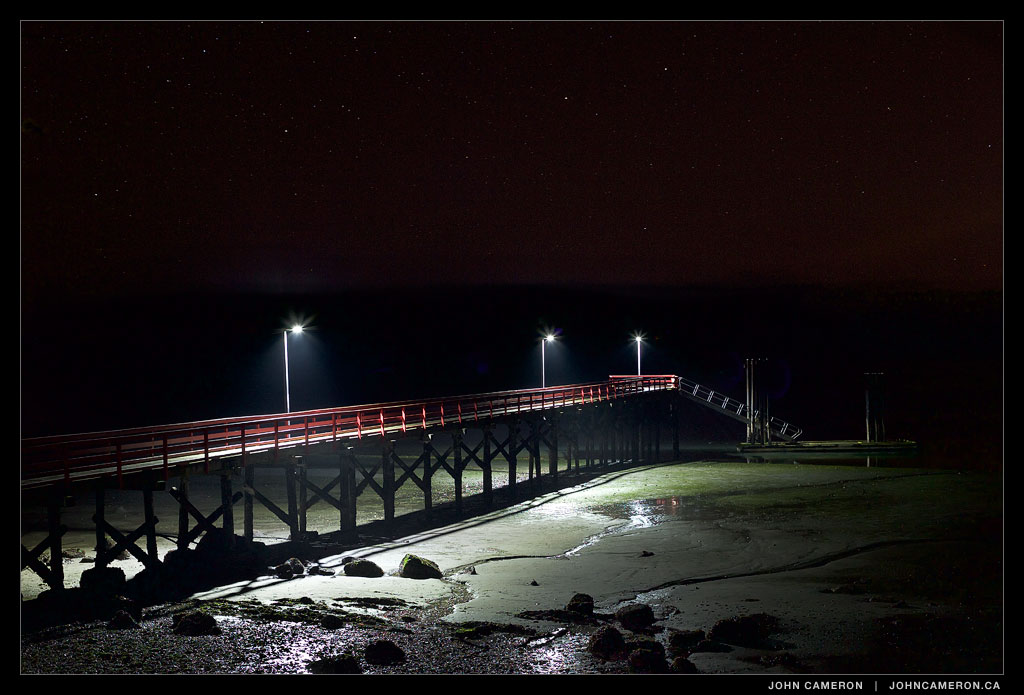 Fernwood Pier at Night