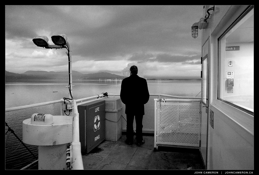 Passenger on BC Ferry