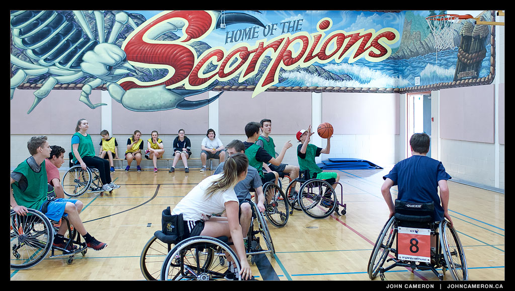 Wheelchair Basketball at GISS