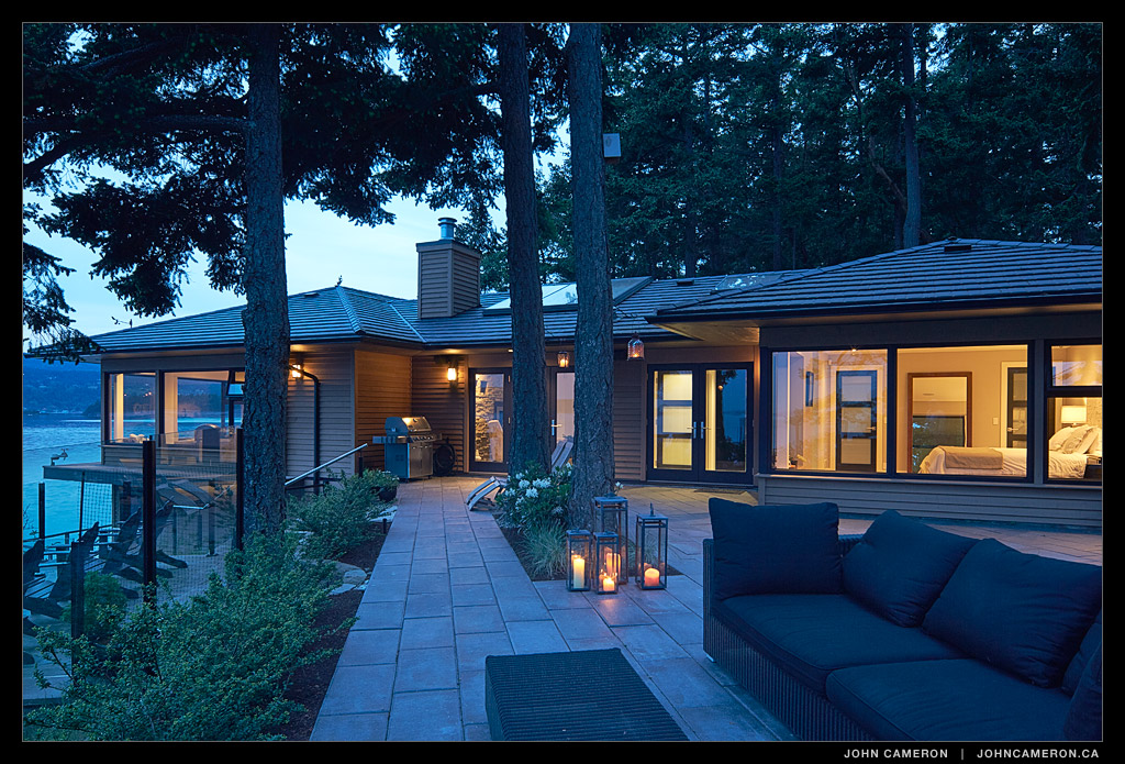 Salt Spring Waterfront Home