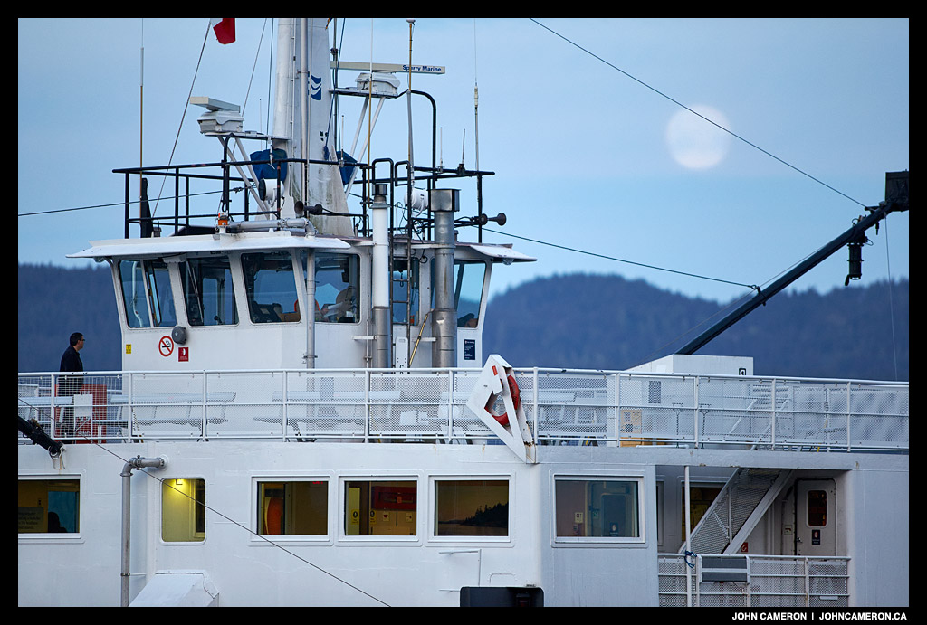 Howe Sound Queen, Early Morning