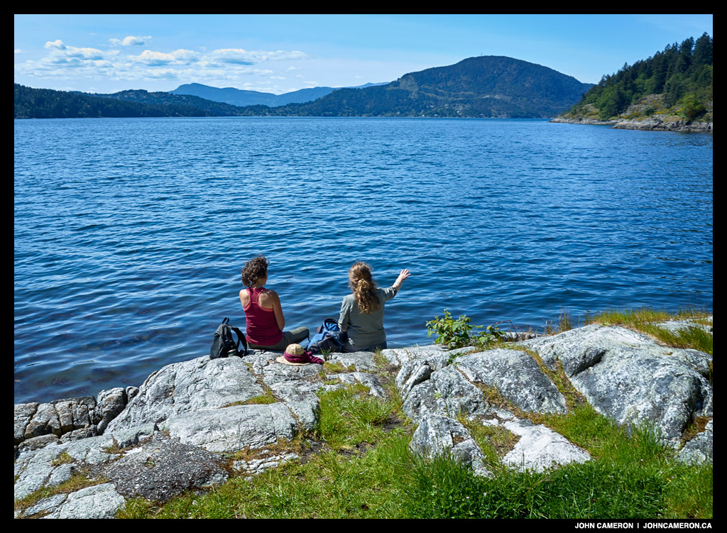 Early Summer on Salt Spring Island