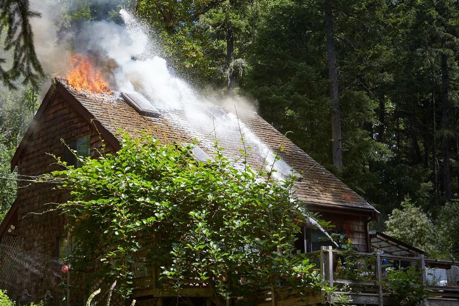 Salt Spring fire