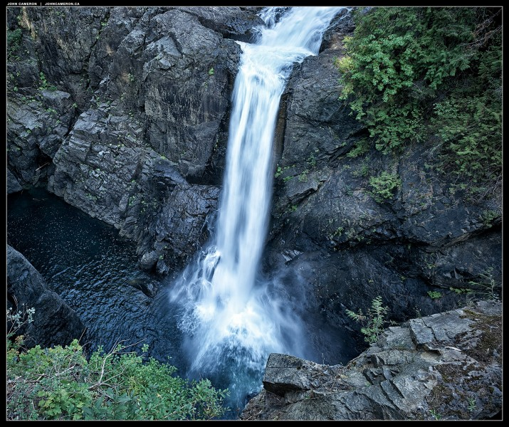 Elk Falls near Campbell River, BC