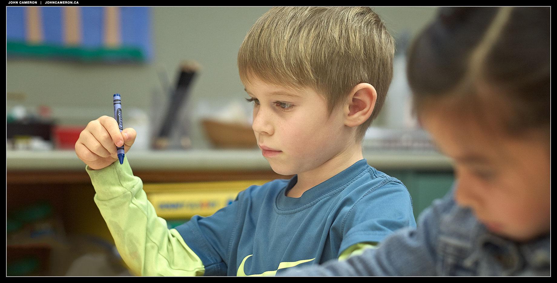 At work in the Fernwood Kindergarten