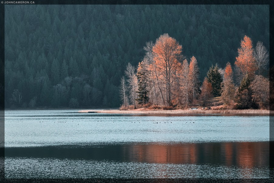 Sidelight at St. Mary Lake
