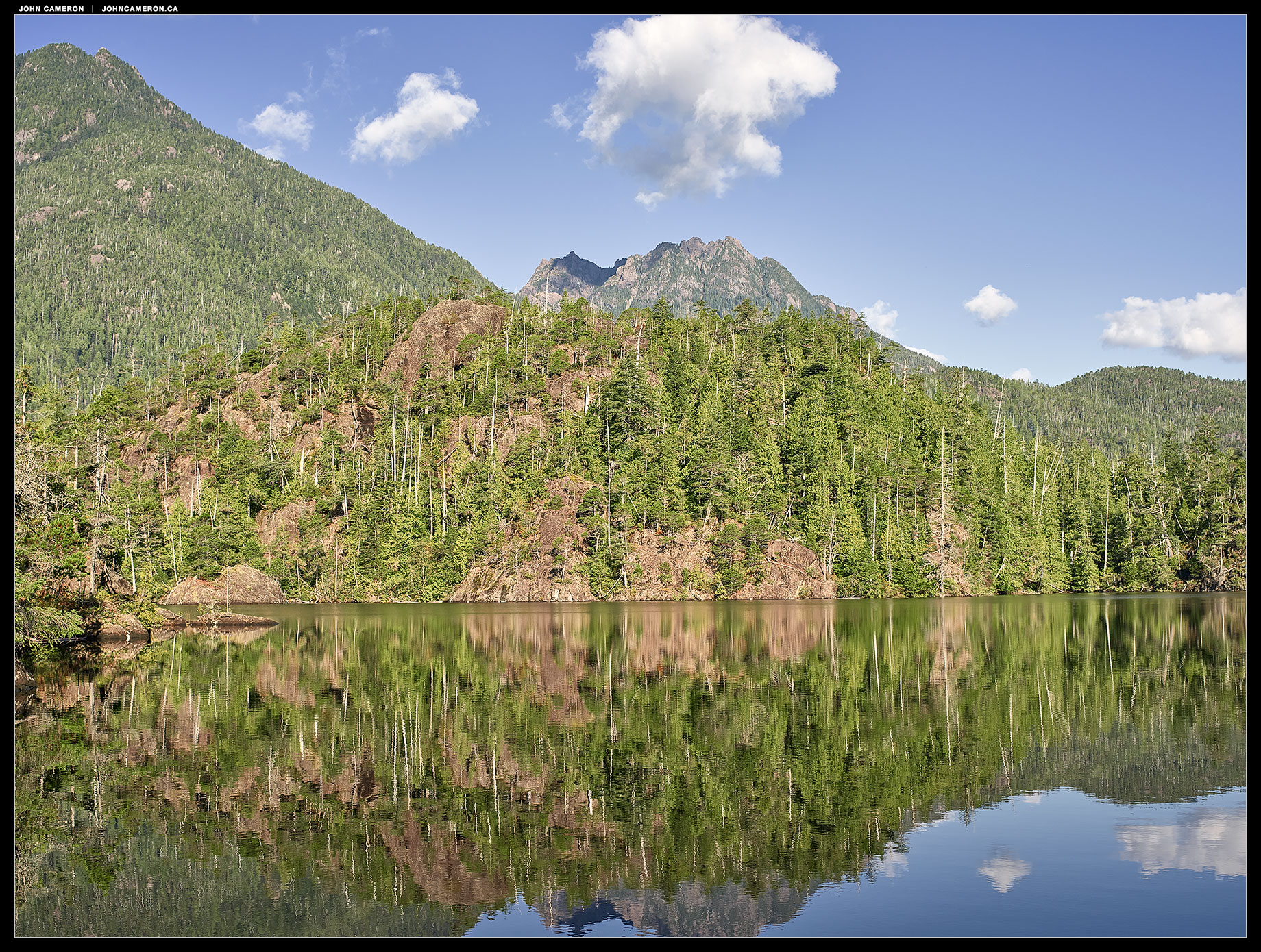Larry Lake, Vancouver Island