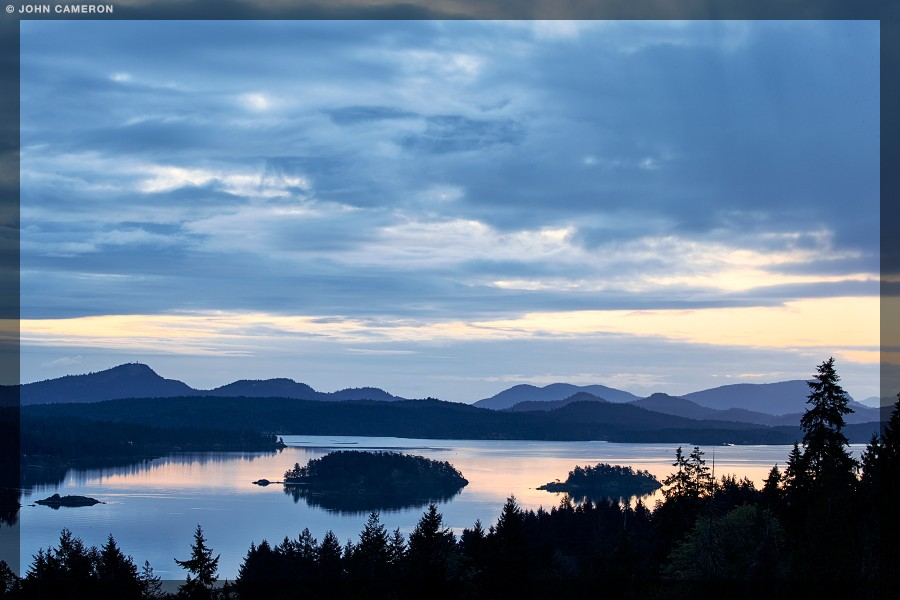 Gulf Islands Morning