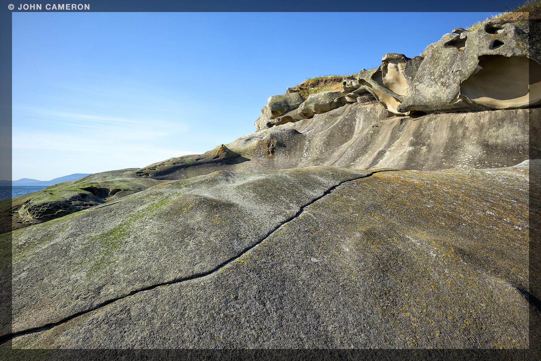 Sandstone at Saturna Island1