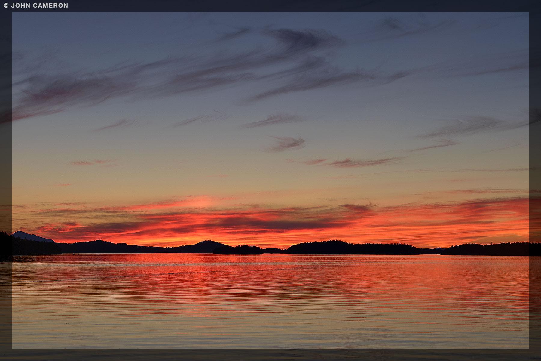 June Sunset from Fernwood Pier