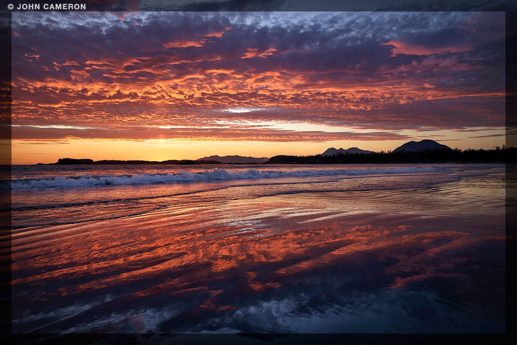 Summer Solstice Sunset 2016
