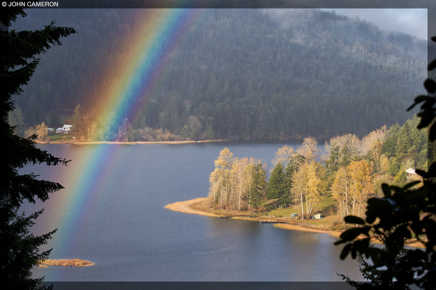 St. Mary Lake Rainbow