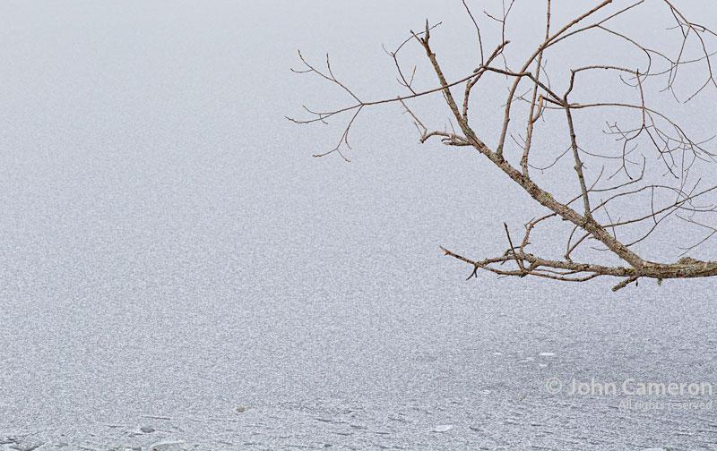 Cusheon Lake frozen