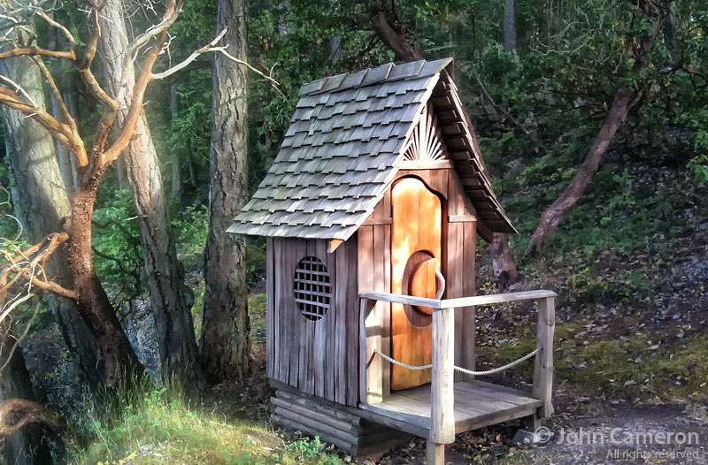 Chocolate Island Outhouse