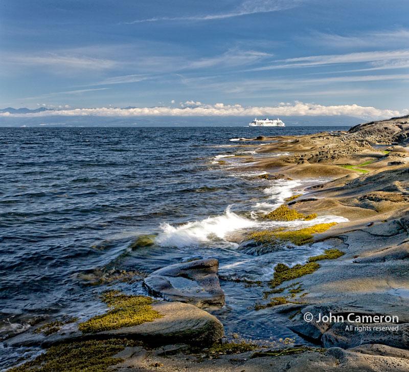 Northern Gabriola shoreline