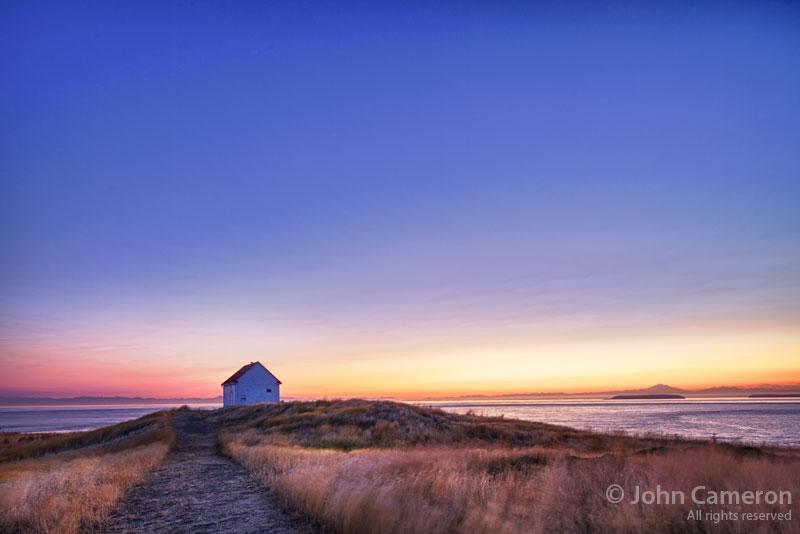 East Point, Saturna Island by John Cameron