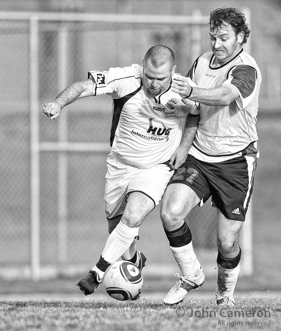Division 2 soccer on Salt Spring Island