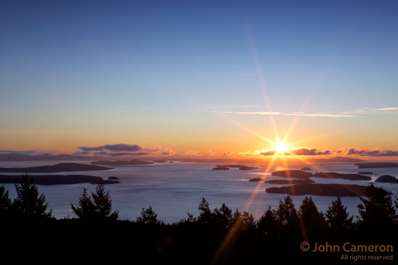 Salt Spring Sunrise