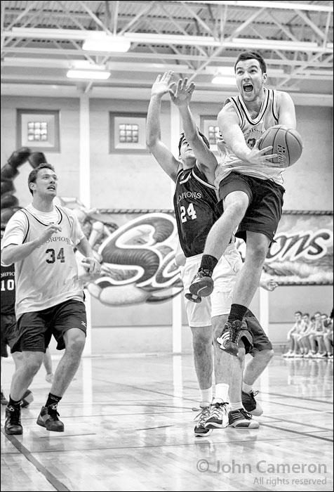 Alumni Basketball on Salt Spring