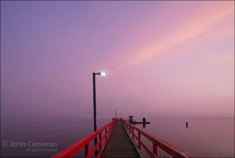 More Fernwood Pier in the Fog