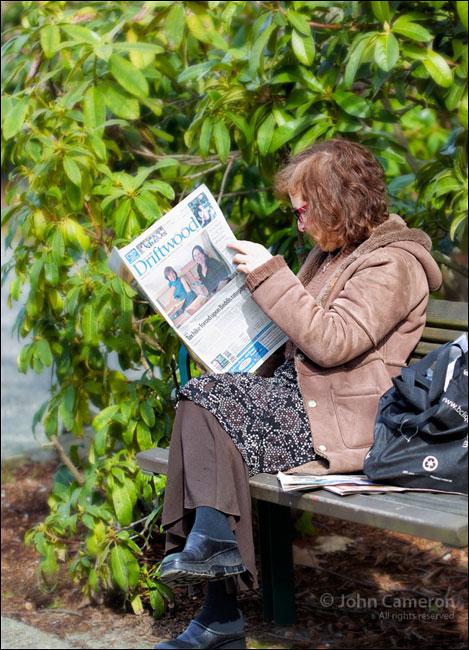 Driftwood reader