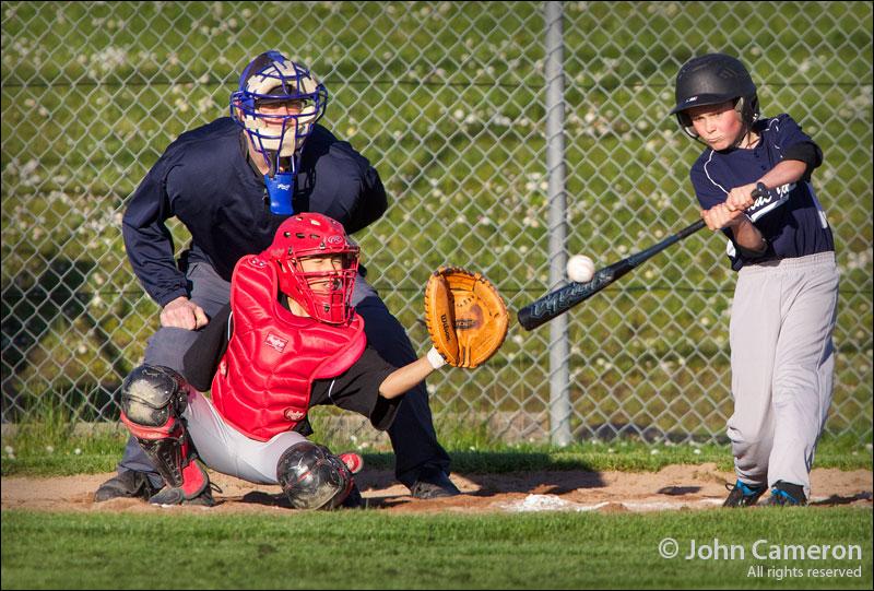 Salt Spring Baseball in colour