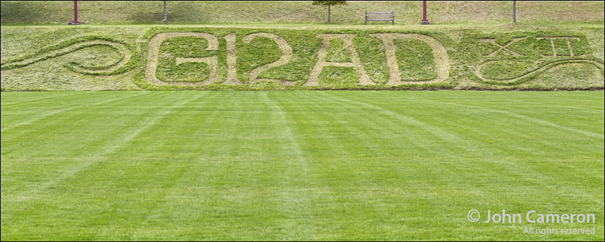 Grounds Keeper Lawn Art for Grad 2012